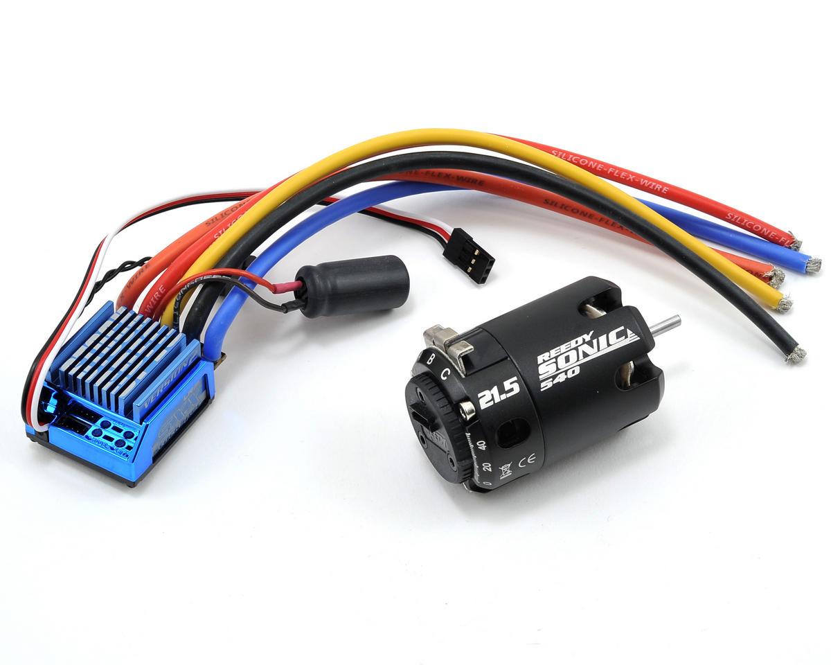 LRP SXX V2 Competition Stock Spec ESC & Sonic Brushless Motor Combo (21.5T)