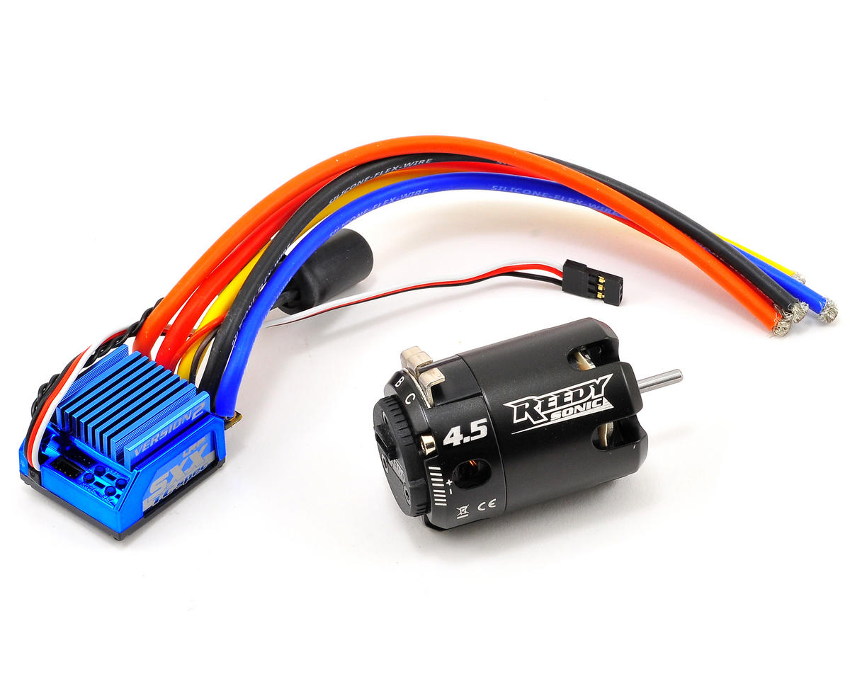 "LRP SXX TC Spec ""Version 2"" ESC & Sonic Brushless Motor Combo (4.5T)"