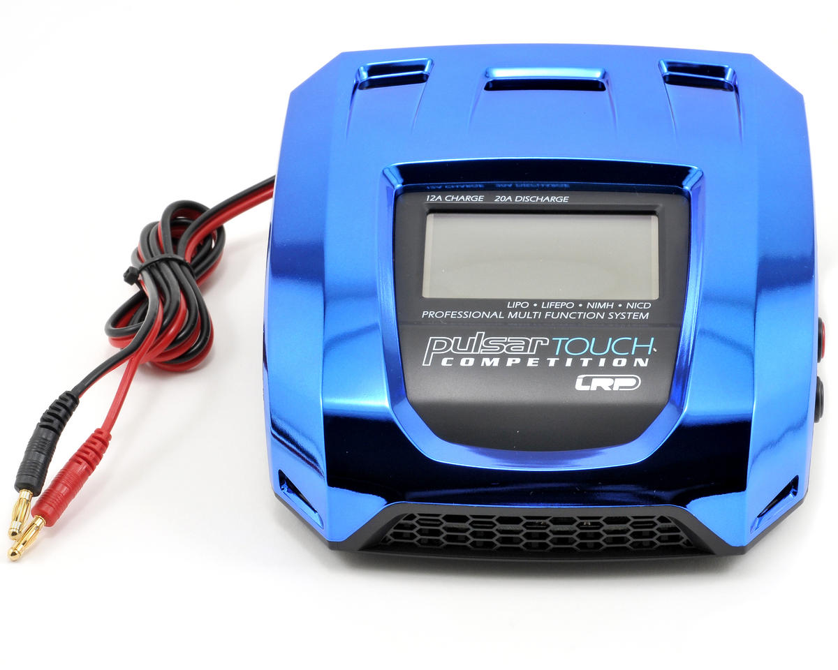 LRP Pulsar Touch Competition LiPo/LiFe/NiMH/NiCd DC Charger