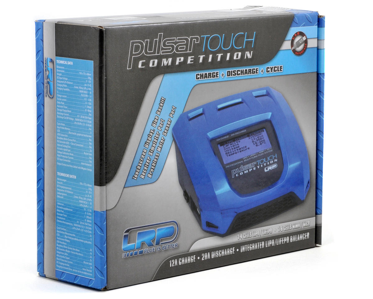 LiPo//LiFe//NiMH//NiCd DC Charger LRP41555 LRP Pulsar Touch Comp