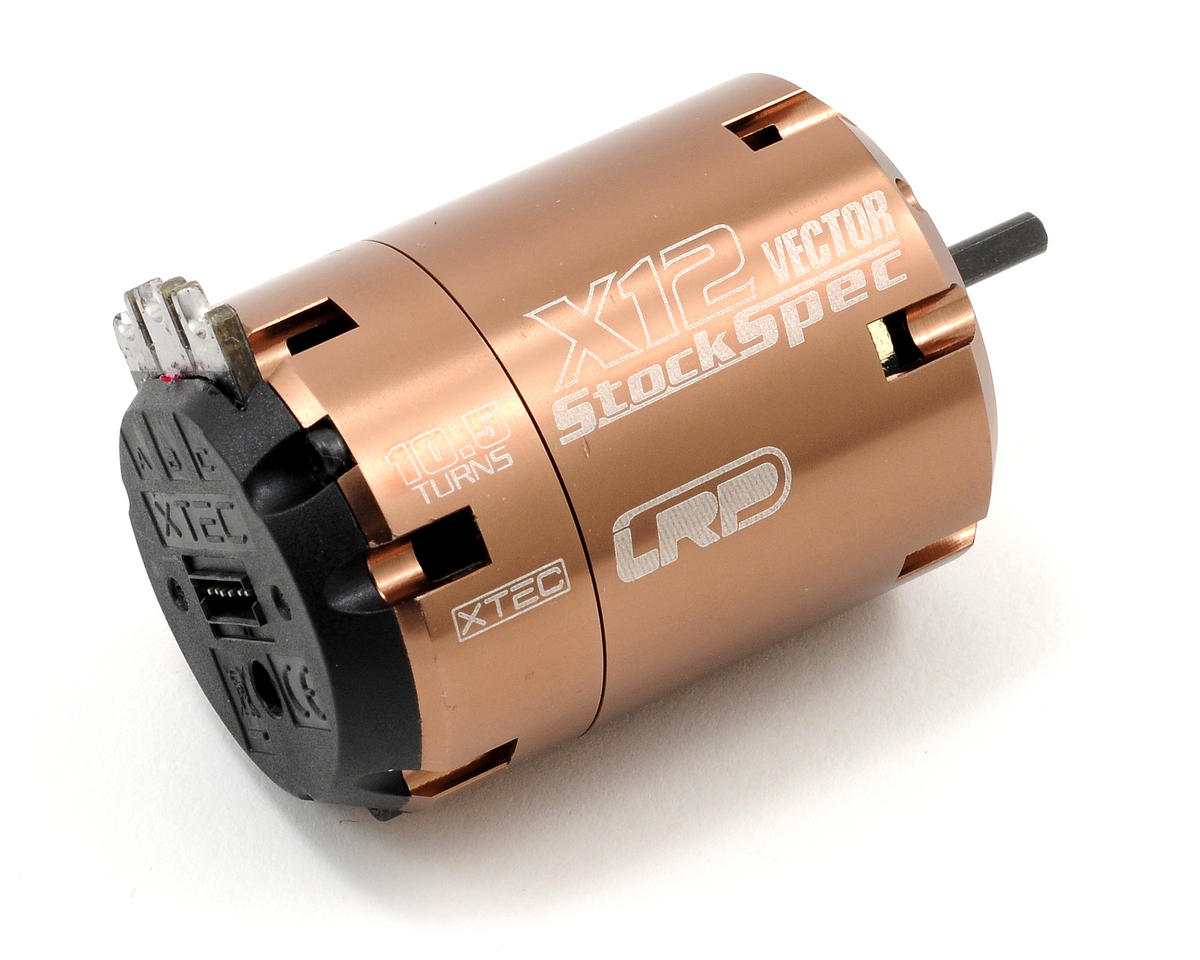 LRP Vector X-12 StockSpec Brushless Motor (10.5T)