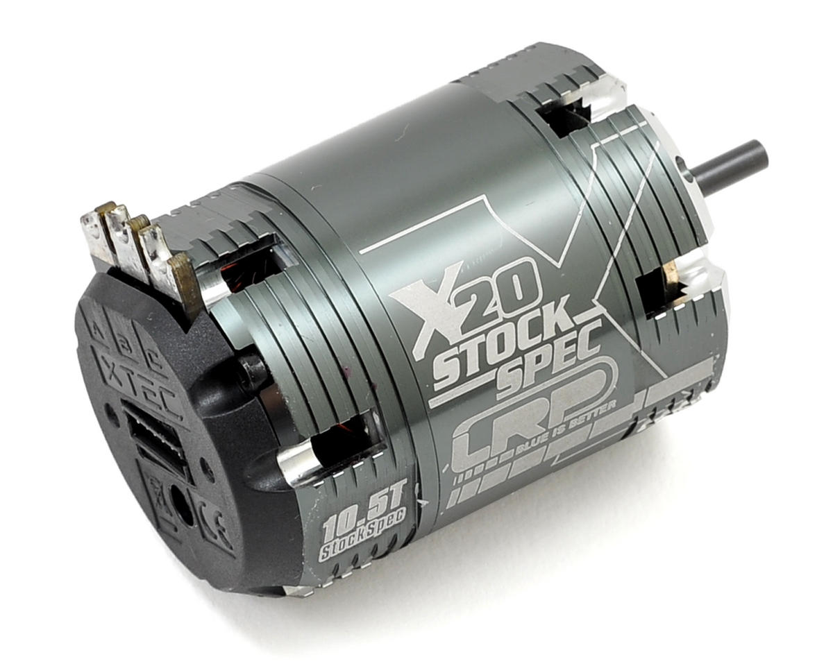 Vector X20 StockSpec Brushless Motor (10.5T) by LRP