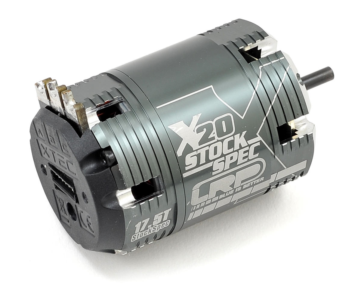Vector X20 StockSpec Brushless Motor (17.5T)