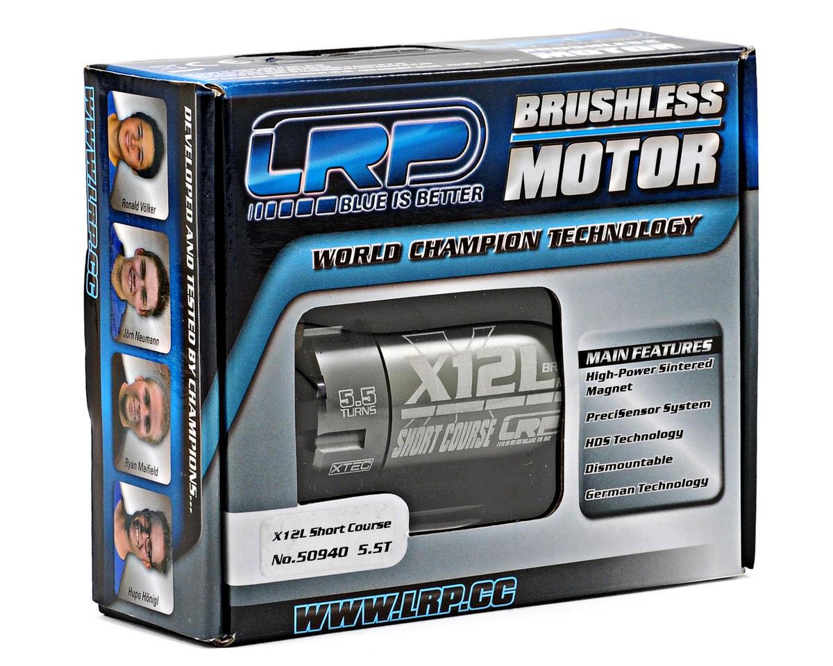 LRP X12L Short Course Sensored Brushless 550 Motor (5.5T)