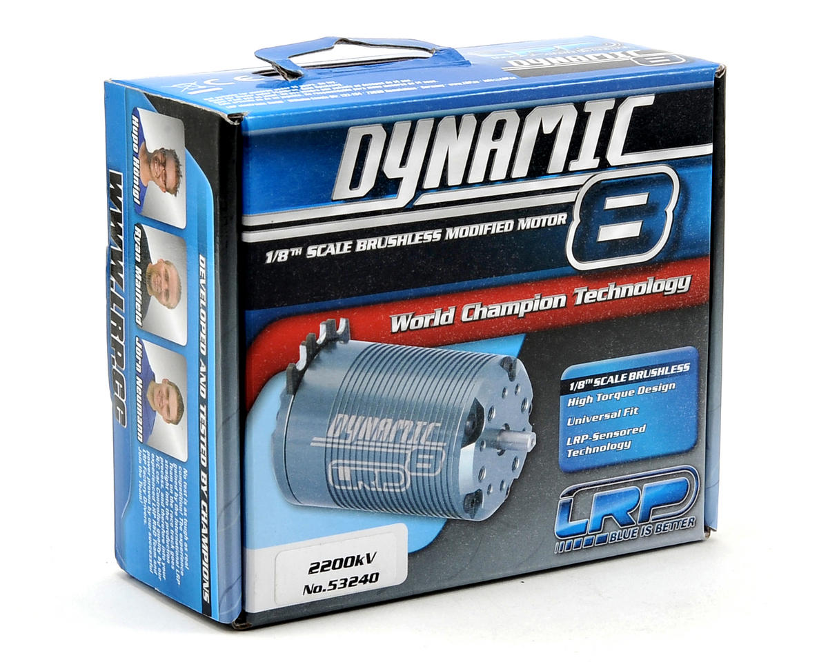 LRP Dynamic 8 Competition 1/8th Scale Brushless Motor (2200kV)