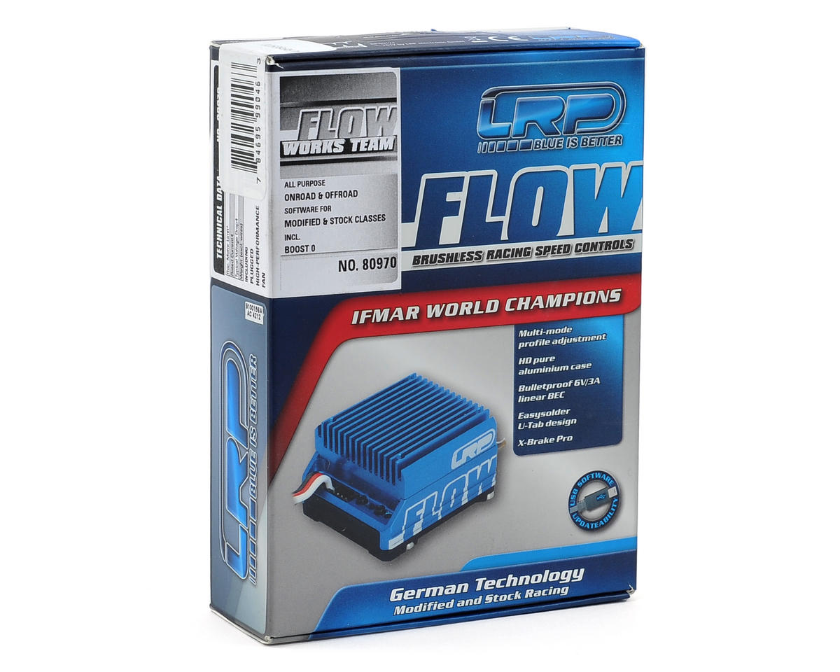"LRP ""Flow"" WorksTeam Brushless ESC"