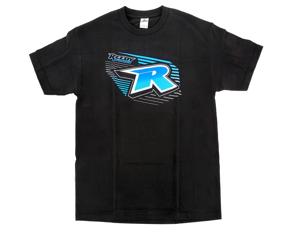 Reedy R-Power Black T-Shirt (L)