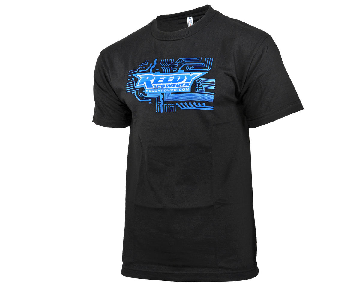 Reedy Circuit Black T-Shirt (L)