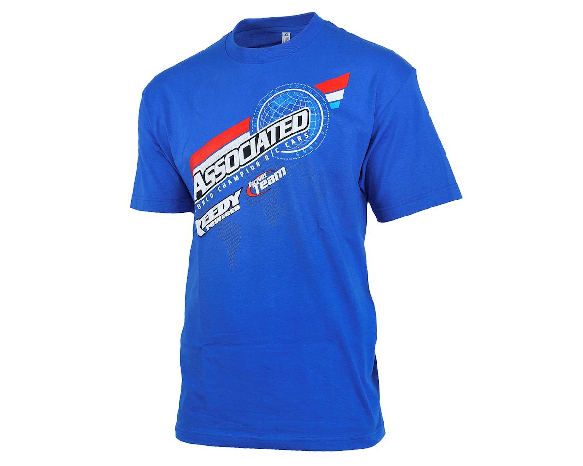 2016 Worlds T-Shirt (Blue) (M) by Team Associated