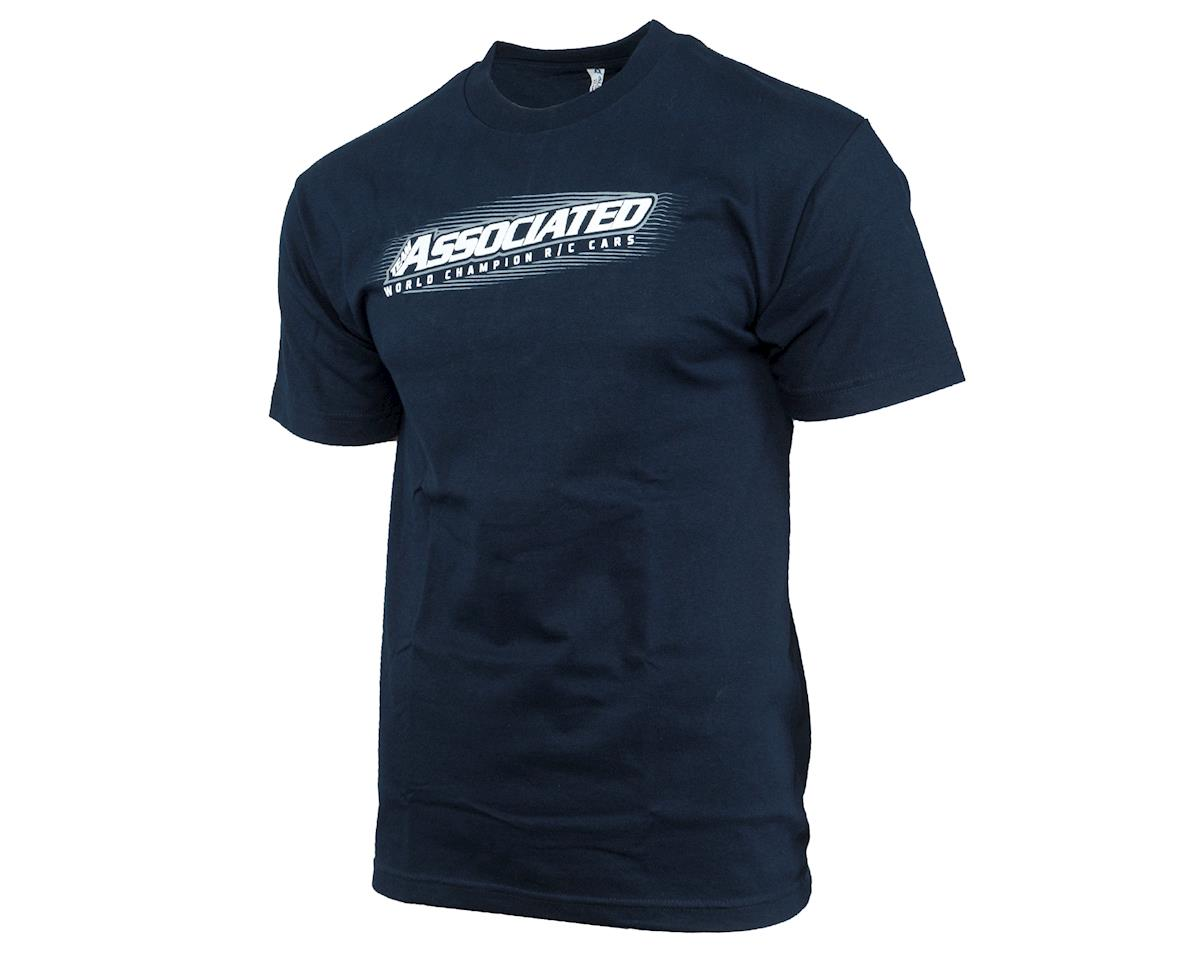 Speed Tee T-Shirt (Navy Blue) (2XL) by Team Associated
