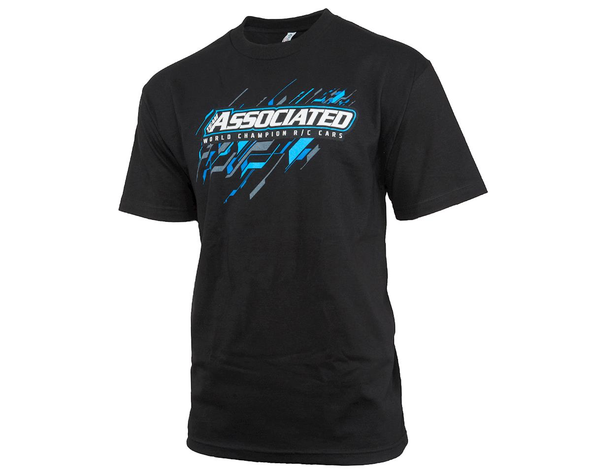 2017 Worlds T-Shirt (Black) (L) by Team Associated