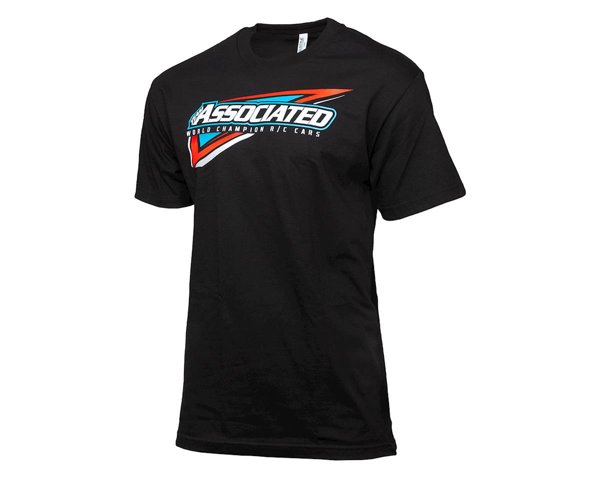 Team Associated Tri T-Shirt (Black) (M)