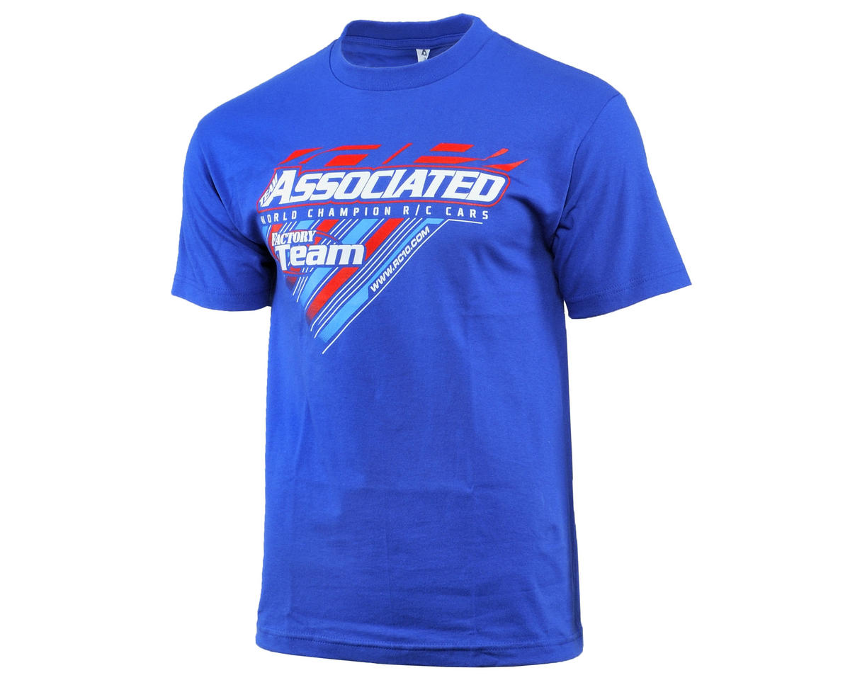 Team Associated 2015 Worlds T-Shirt (Blue) (L)