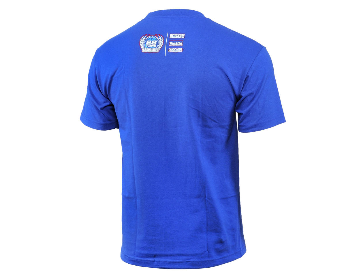 Team Associated 2015 Worlds T-Shirt (Blue) (M)