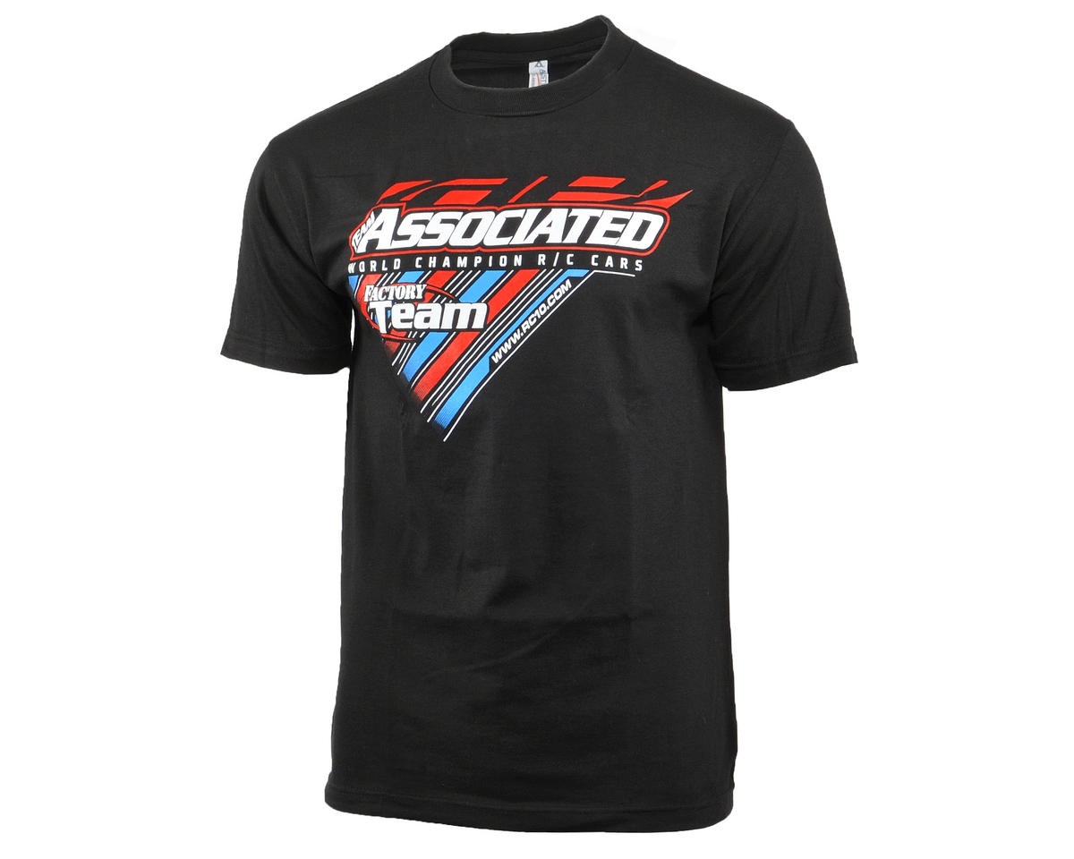 Team Associated 2015 Worlds T-Shirt (Black) (2XL)