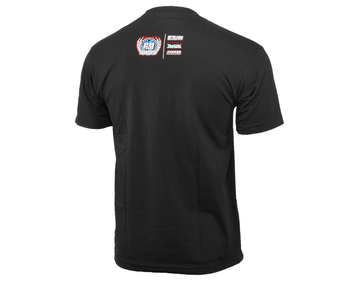 Team Associated 2015 Worlds T-Shirt (Black) (2XL)