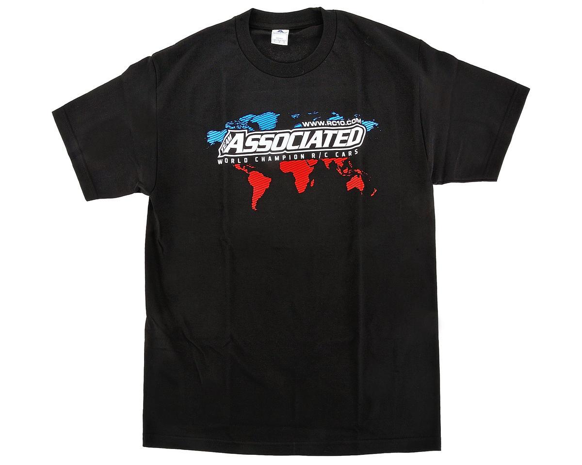 Team Associated International T-Shirt (Black) (XL)