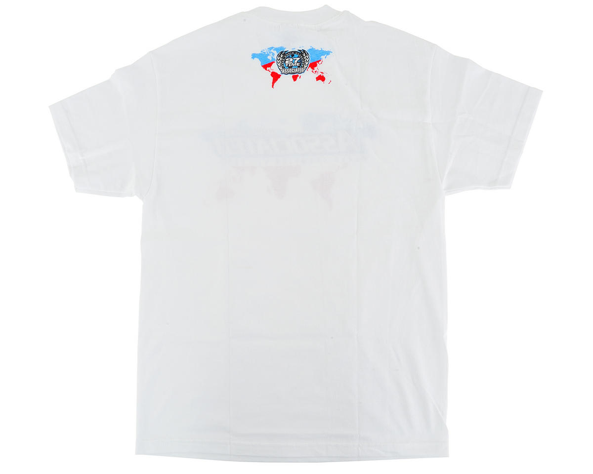 Team Associated International T-Shirt (White) (L)