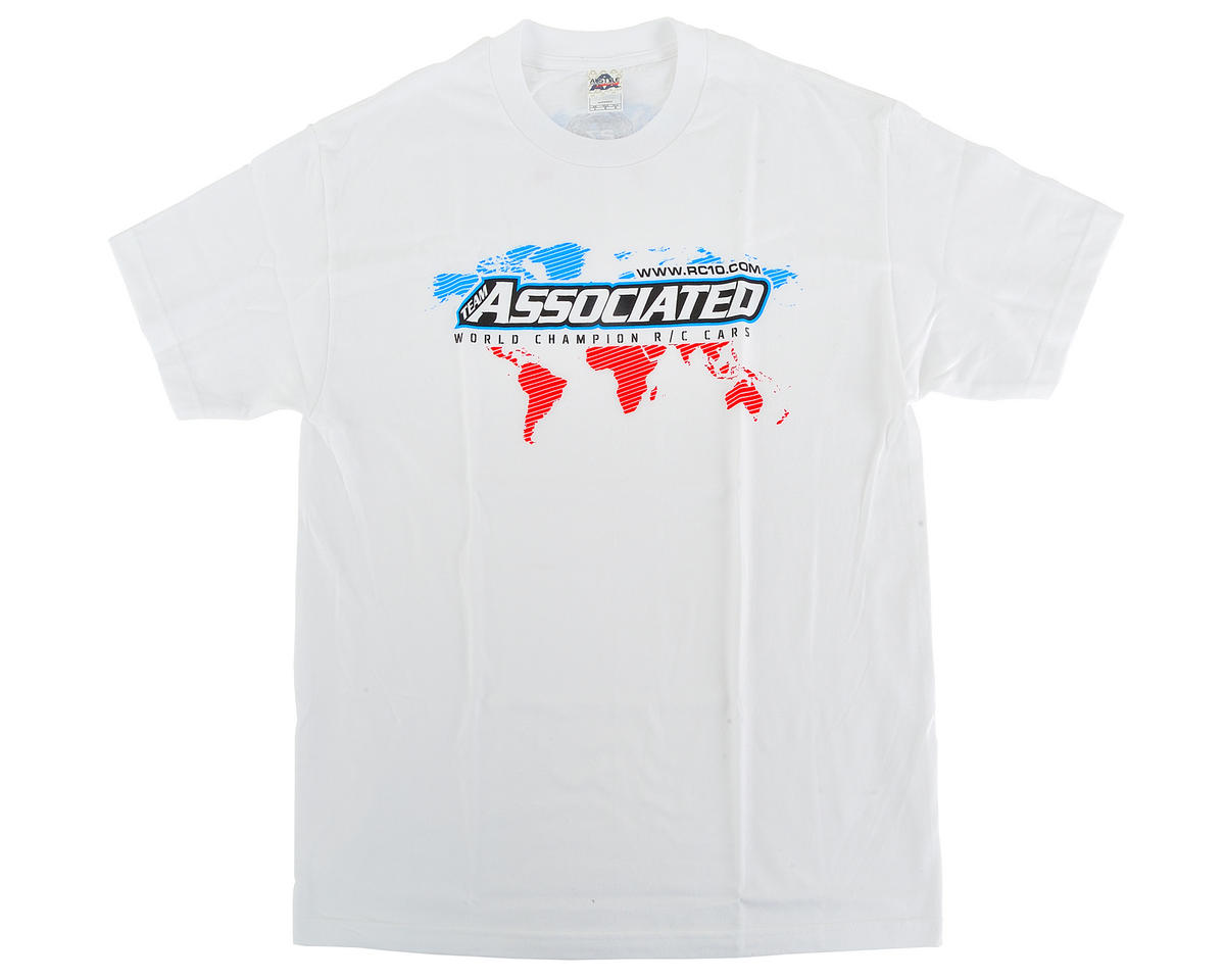 Team Associated International T-Shirt (White) (2XL)
