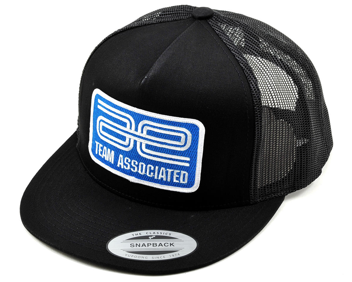 Team Associated AE Patch Trucker Hat (Black)