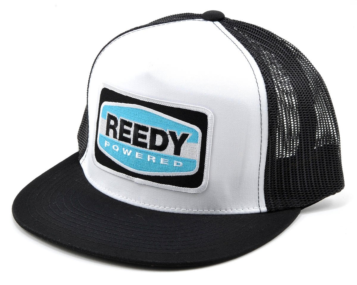 Reedy Trucker Hat (White/Black)