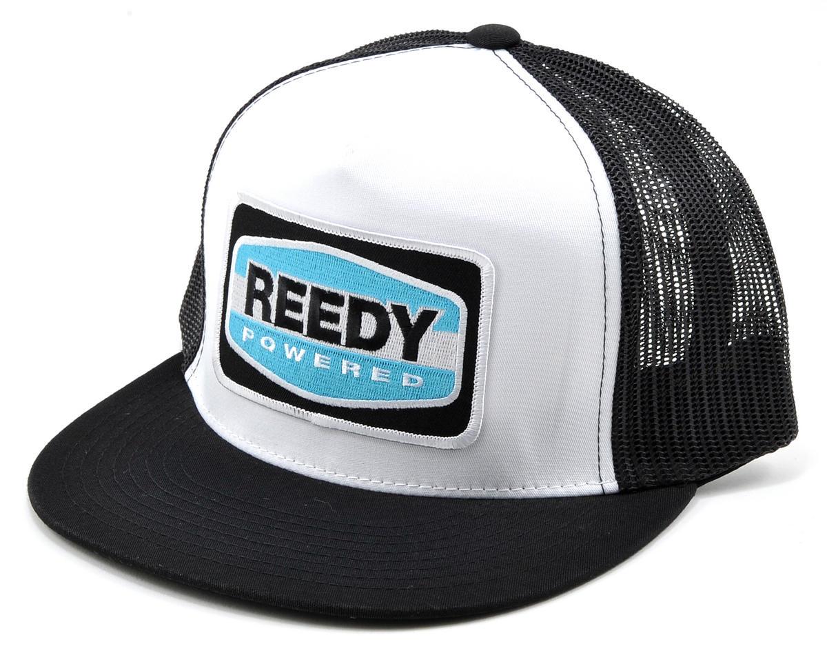 Trucker Hat (White/Black) by Reedy