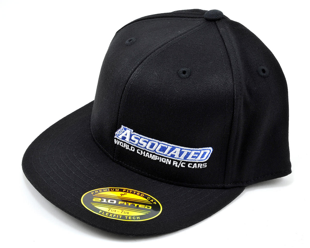 "Team Associated 2012 ""Flatbill"" FlexFit Cap"