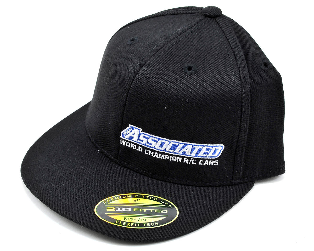 "Team Associated 2012 ""Flatbill"" FlexFit Cap (S/M)"