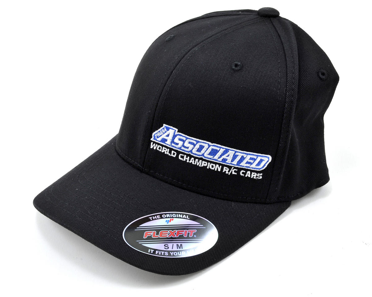 "Team Associated 2012 ""Curved Bill"" FlexFit Cap (S/M)"