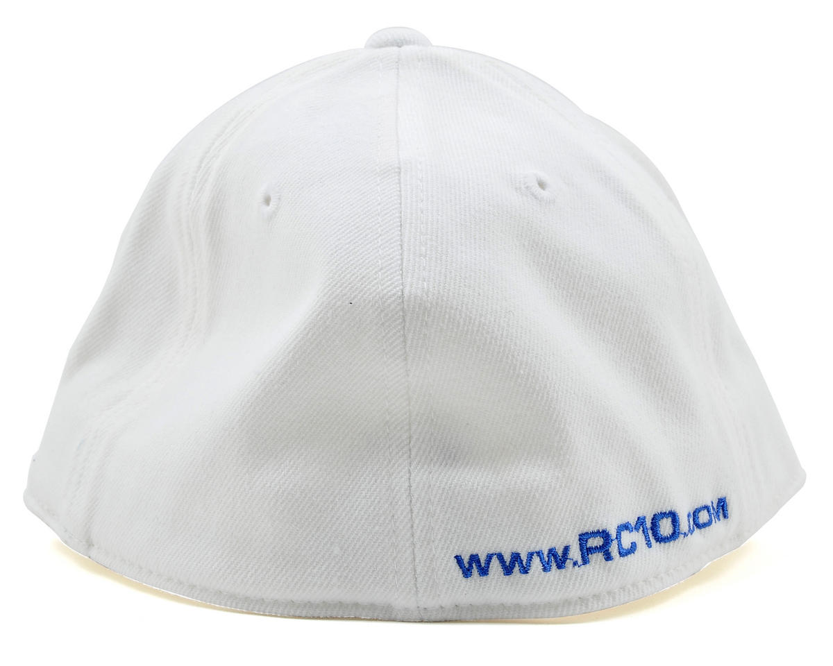 "Team Associated 2012 ""Curved Bill"" FlexFit Cap (White) (S/M)"
