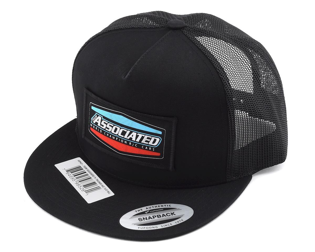 """Team Associated Tri Trucker """"Flat Bill"""" Snapback Hat"""