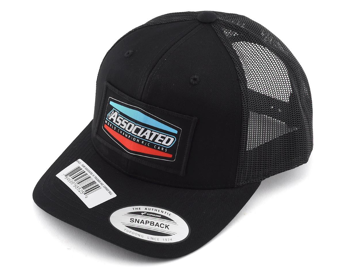 """Team Associated Tri Trucker """"Curved Bill"""" Snapback Hat"""