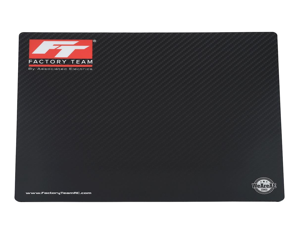 Team Associated Factory Team Carbon Fiber Counter Top Setup Mat (40x50cm)