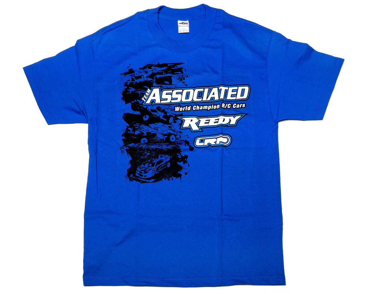 Team Associated Blue Stencil T-Shirt (Large)