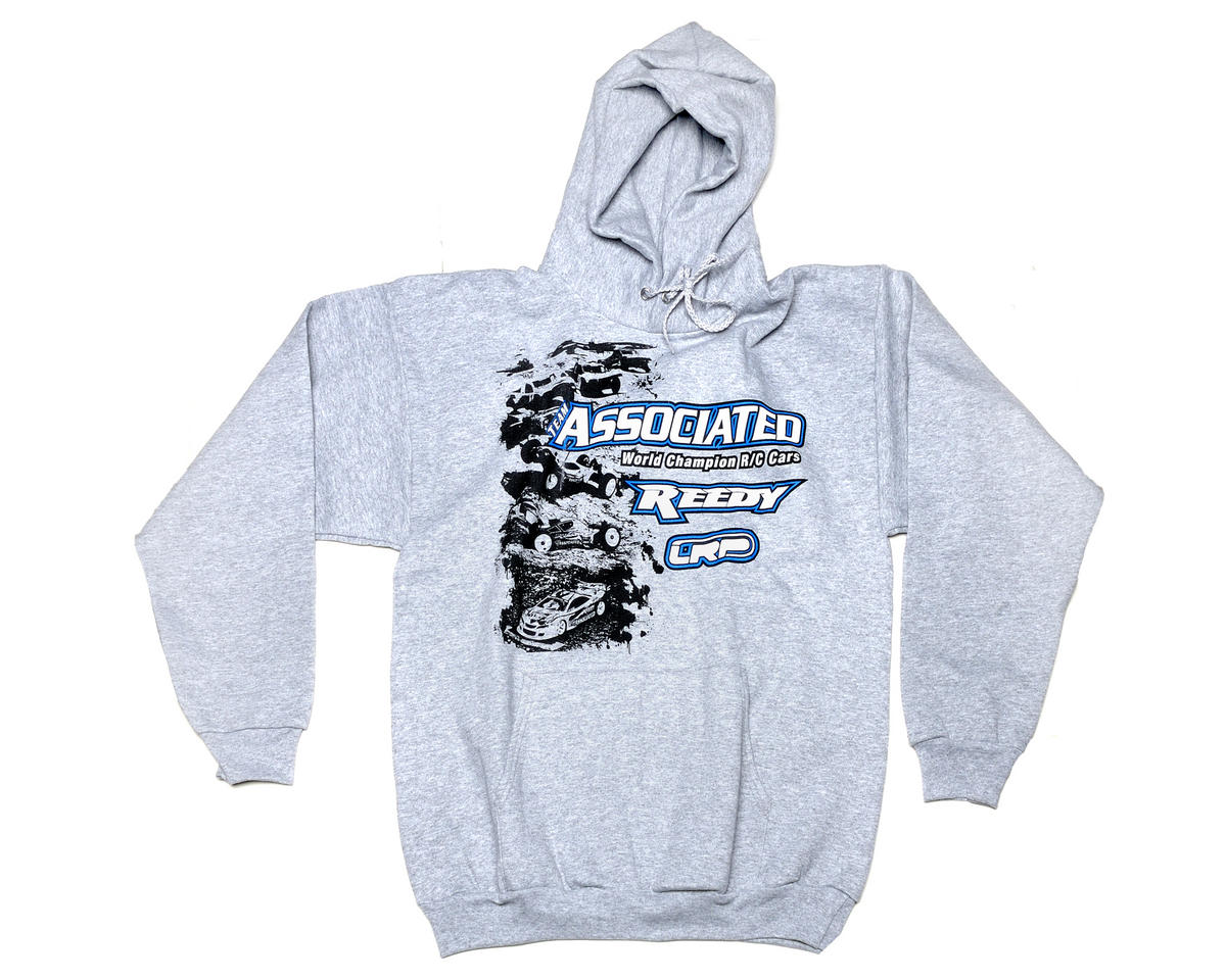 Team Associated Grey Stencil Sweatshirt (X-Large)
