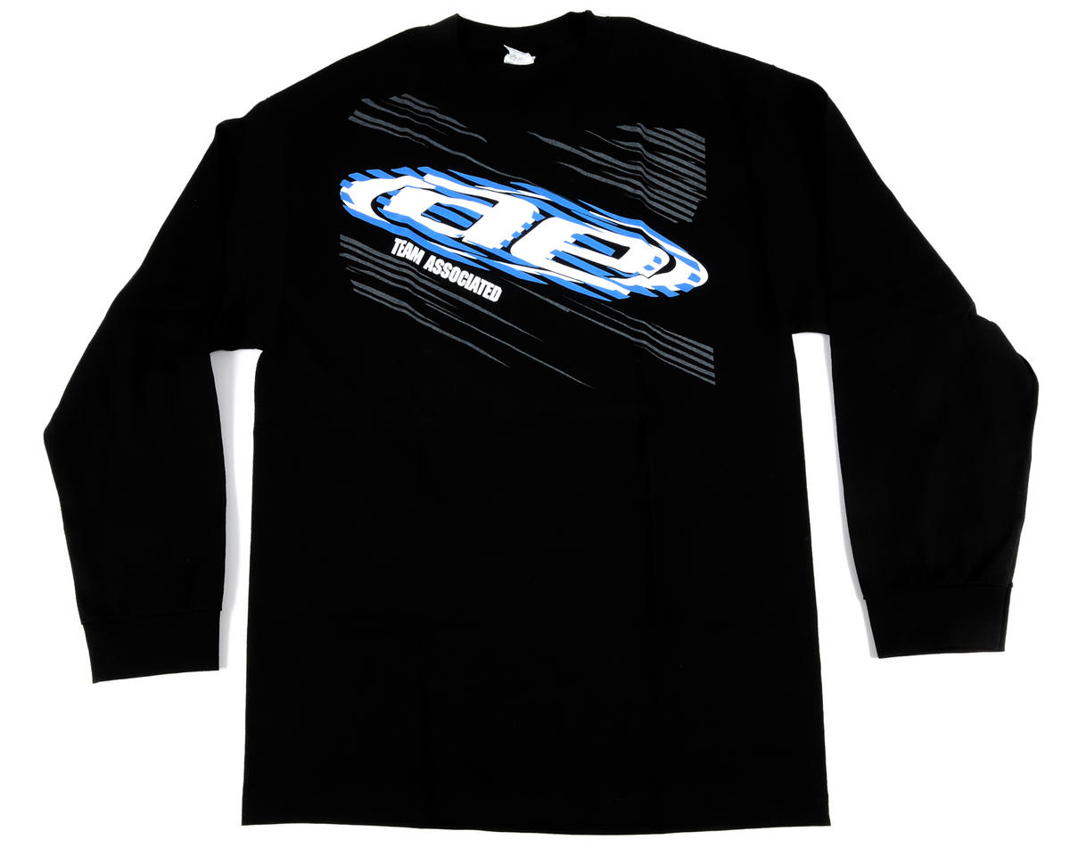 Team Associated Black AE Long Sleeve Shirt (Medium)