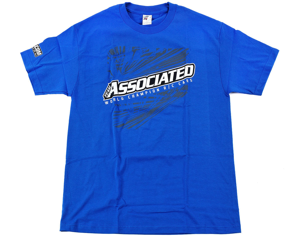 Team Associated Blue AE 2012 T-Shirt (Small)