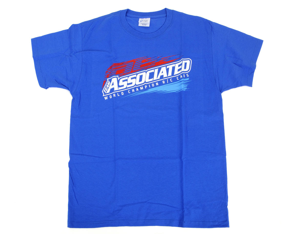 Team Associated 2013 Worlds T-Shirt (Blue) (M)