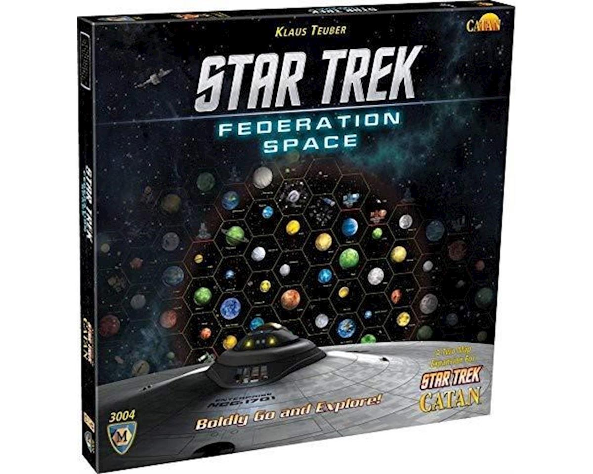 Asmodee Star Trek Catan Federation Space