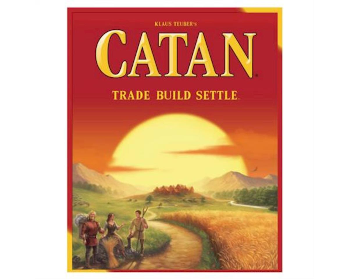 Catan 5th Edition Board Game by Asmodee