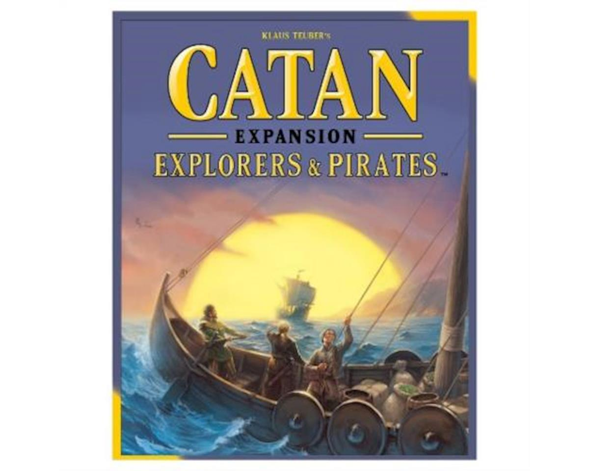 Asmodee Catan: Explorers and Pirates Expansion