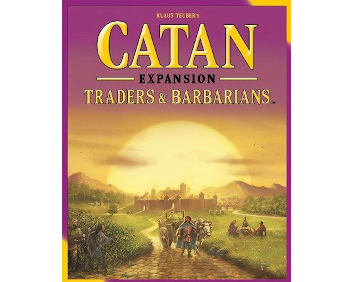 The Settlers of Catan: Traders & Barbarians Board Game Expansion Set
