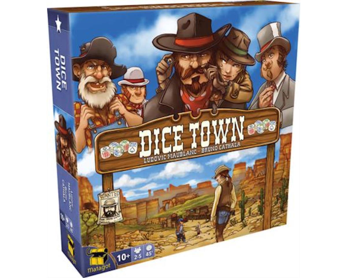 Asmodee DIT03 Dice Town Board Game