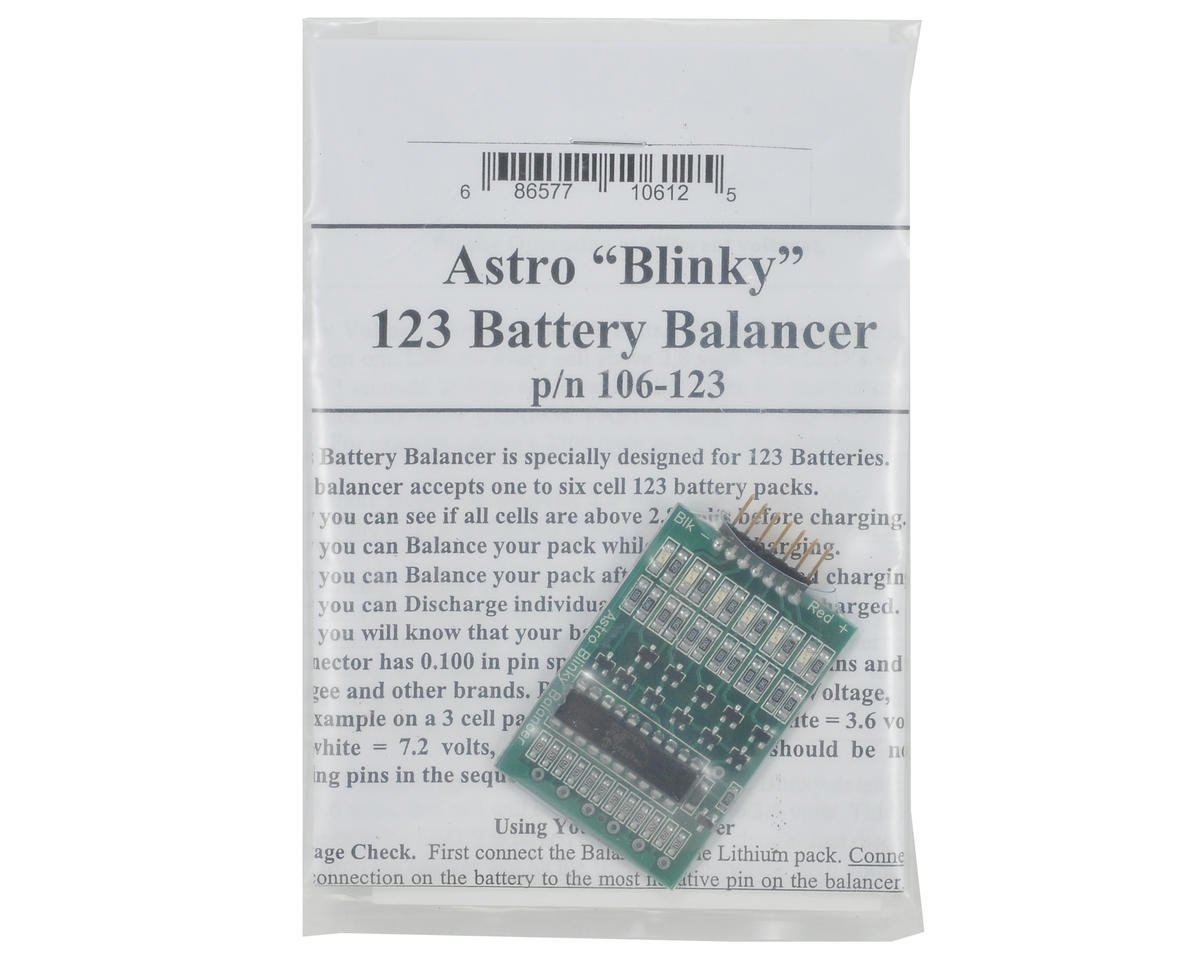 """""""Astro 123 Blinky"""" Lithium Battery Balancer (A123) by Astro Flight"""