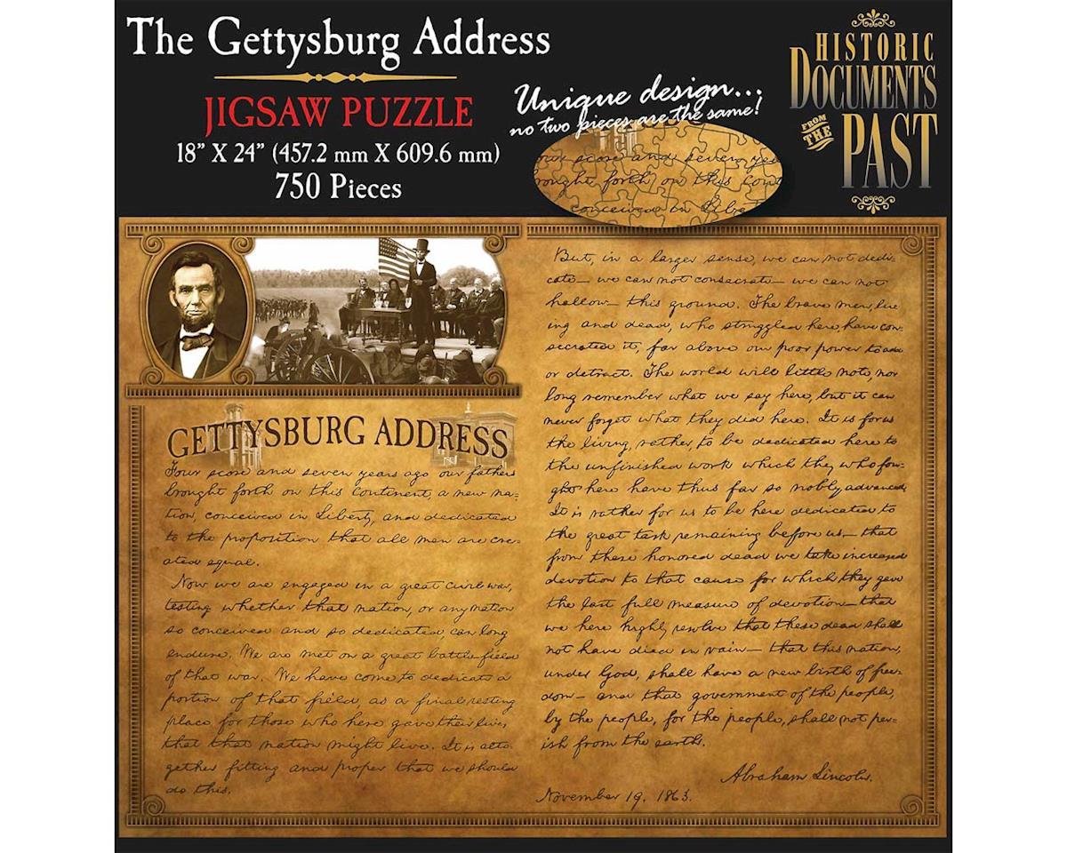 Americana Souvenirs 750Puz The Gettysburg Address