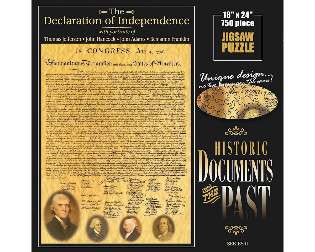 Declaration Of Independence 750Pcs by Americana Souvenirs