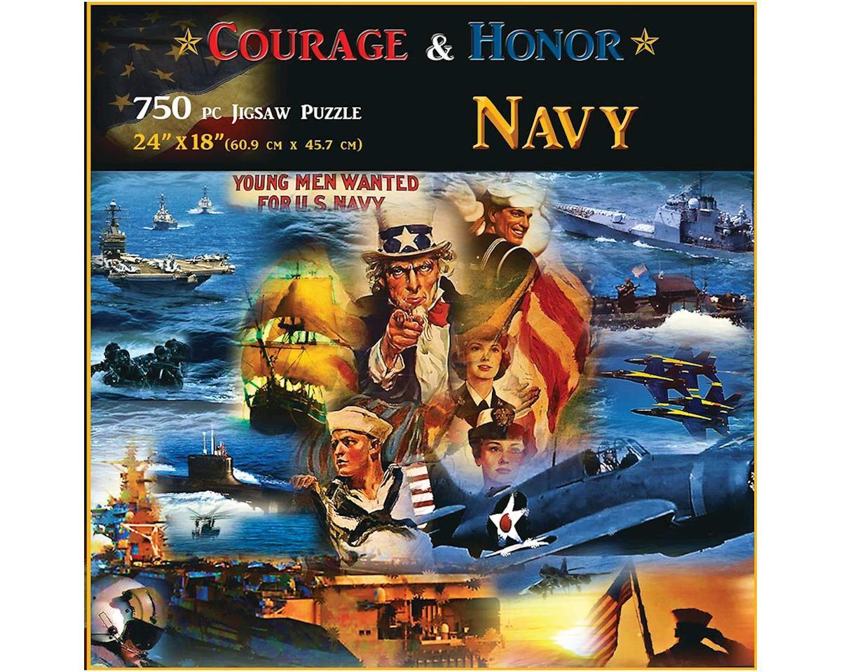 Navy 750Pcs