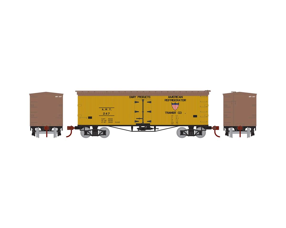 Athearn N 36' Old Time Wood Reefer, ART #247