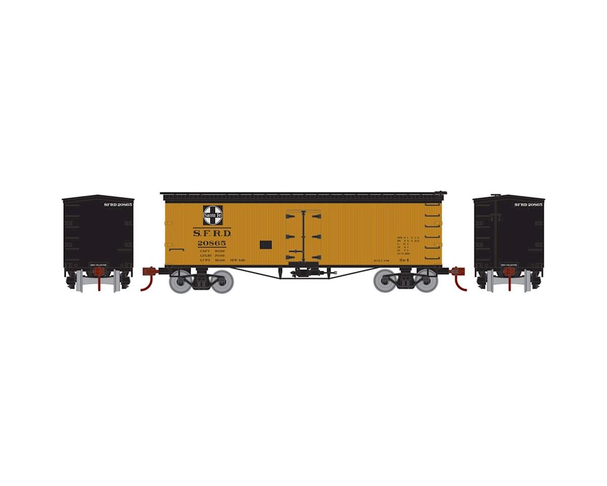 Athearn N 36' Old Time Wood Reefer, SF #20865