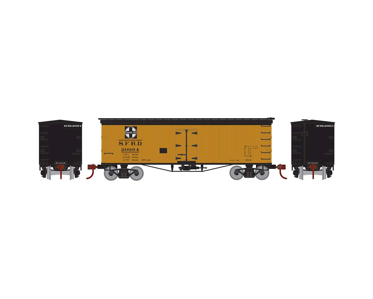 Athearn N 36' Old Time Wood Reefer, SF #20894